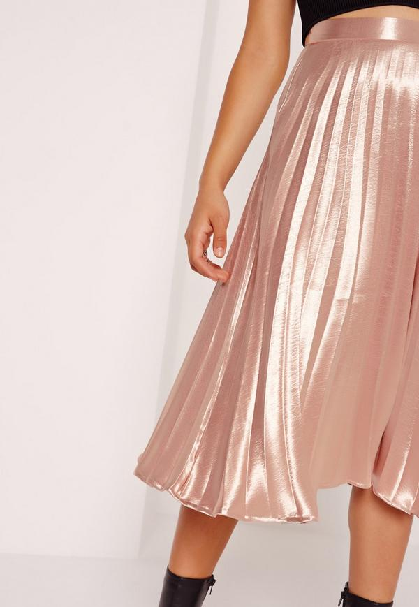 full-pleated-midi-skirt-rose-gold
