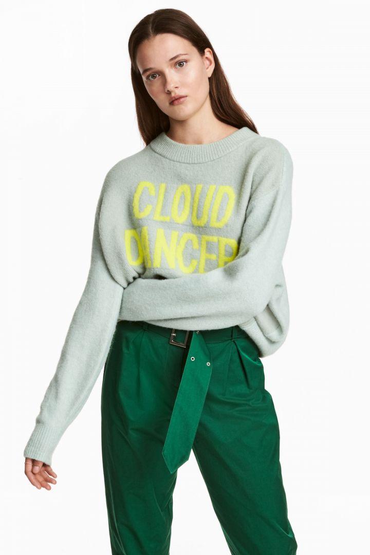 pulover-verde-menta-tricotat-cu-mesaj-89-lei-hm-com_